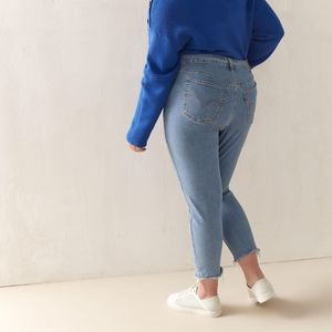 Levi's Plus Size Wedgie Skinny Jeans 14W NWOT